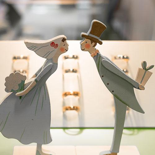 Ringe zur Hochzeit oder Verlobung, Symbolbild