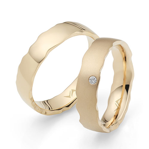 Hera Ring VA-GB16 Gelbgold Brillanten