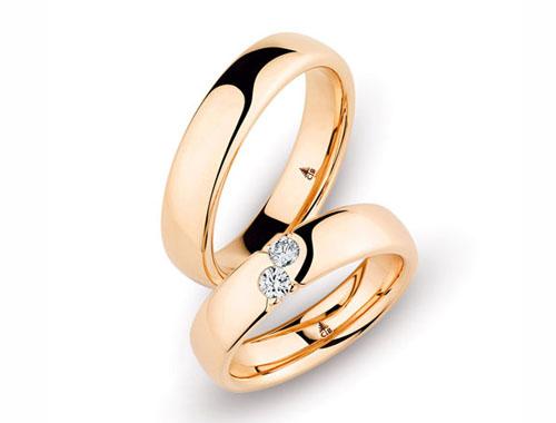 Verlobungsring Weißgold Brillant