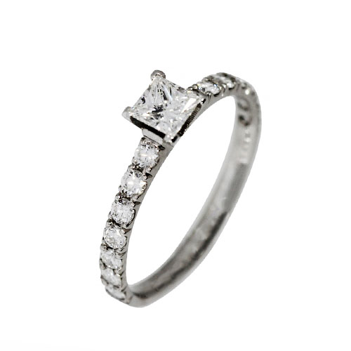 Verlobungsring Platin-Princess-Diamant-VR-BR109